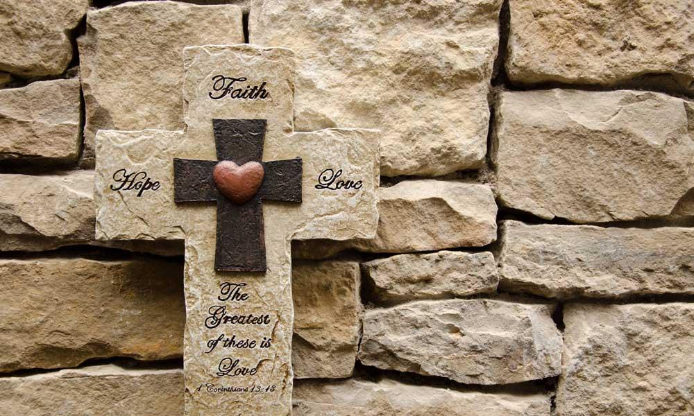 Trinity Hope Core Value Wall